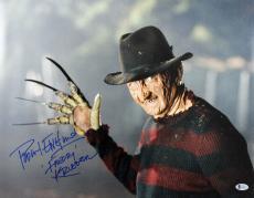 "Robert Englund Nightmare On Elm St ""Freddy Krueger"" Signed 16X20 Photo BAS 1"