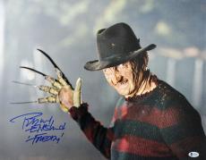 "Robert Englund Nightmare On Elm St ""Freddy"" Signed 16X20 Photo BAS Witnessed 1"