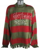"Robert Englund Nightmare On Elm St ""Freddy"" Signed Costume Sweater BAS"