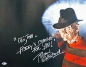 """Robert Englund Nightmare On Elm St """"One, Two.."""" Signed 16X20 Photo BAS Witness"""
