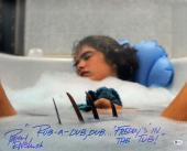 """Robert Englund Nightmare On Elm St """"Rub-A -Dub, Dub"""" Signed 16X20 Photo BAS"""