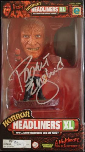 ROBERT ENGLUND (Nightmare on Elm St) signed Freddy Krueger HEADLINER Figure-JSA