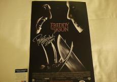 Robert Englund Nightmare On Elm St Signed Photo Movie Poster Psa/dna Coa #q60607