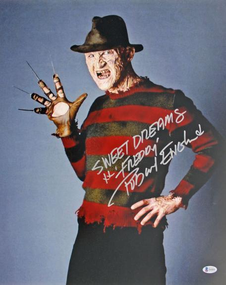 "Robert Englund Nightmare On Elm St ""Sweet Dreams"" Signed 16x20 Photo BAS #I64404"