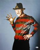 "Robert Englund Nightmare On Elm St ""Sweet Dreams"" Signed 16X20 Photo BAS Witness"