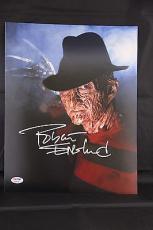 Robert Englund signed 11x14 autographed photo Freddy Krueger PSA/DNA Y38005