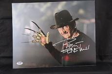 Robert Englund signed 11x14 autographed photo Freddy Krueger PSA/DNA Y38006