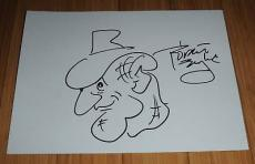 Robert Englund Signed 11x14 Freddy Sketch Exact Proof
