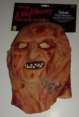 ROBERT ENGLUND signed *A NIGHTMARE ON ELM STREET* Freddy Krueger mask W/COA