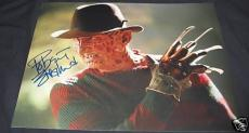 Robert Englund Signed Auto Freddy Krueger 11x14 Photo A