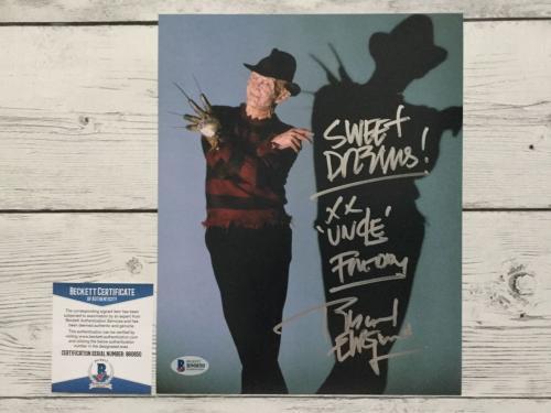 Robert Englund Signed Autographed Freddy Krueger 8x10 Photo Beckett BAS COA e