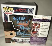 Robert Englund Signed   Autographed Freddy Krueger Friday the 13th Sleep Kills Funko Pop Toy Doll Figurine - JSA Certified