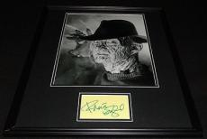 Robert Englund Signed Framed 16x20 Photo Display Nightmare on Elm St Freddy