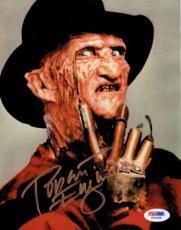 Robert Englund Signed Freddie Krueger Autographed 7x9 Photo PSA/DNA #X31969