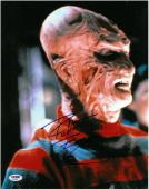 Robert Englund Signed Freddy Krueger Autographed 11x14 Photo PSA/DNA #AA78658