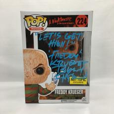 Robert Englund Signed Freddy Krueger Needle Pop Funko JSA Coa Inscribed