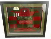 Robert Englund Signed Freddy Krueger Sweater Framed Inscribed JSA Coa