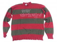 Robert Englund Signed Freddy Krueger Sweater Inscribed JSA Coa