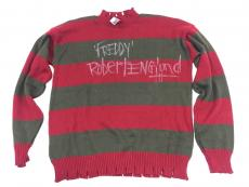 Robert Englund Signed Freddy Krueger Sweater Inscribed JSA Coa