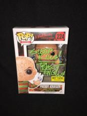 Robert Englund Signed & Inscribed Freddy Krueger Funko Pop Figure Hot Topic