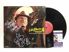 Robert Englund Signed Nightmare On Elm Street Album Inscribed With Sketch JSA