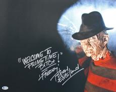 "Robert Englund ""Welcome To Primetime"" Signed 16X20 Photo BAS #I64605"