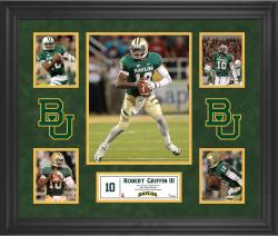 Robert Griffin Baylor Bears Framed 5-Photo Collage
