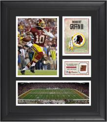 "Robert Griffin III Washington Redskins Framed 15"" x 17"" Collage with Game-Used Football"