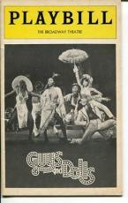 Robert Guillaume Ernestine Jackson Guys And Dolls 1976 Opening Night Playbill