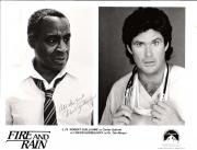 "ROBERT GUILLAUME ""FIRE AND RAIN"" Signed 10x8 B/W Photo"