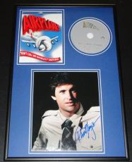 Robert Hays Signed Framed 12x18 Airplane DVD & Photo Display