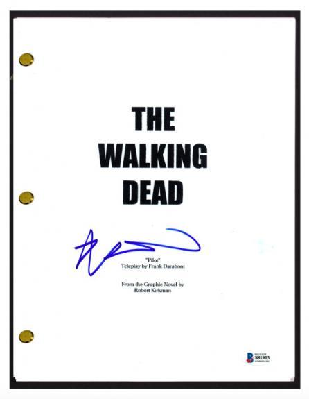 Robert Kirkman Signed Autographed THE WALKING DEAD Pilot Script Beckett BAS COA