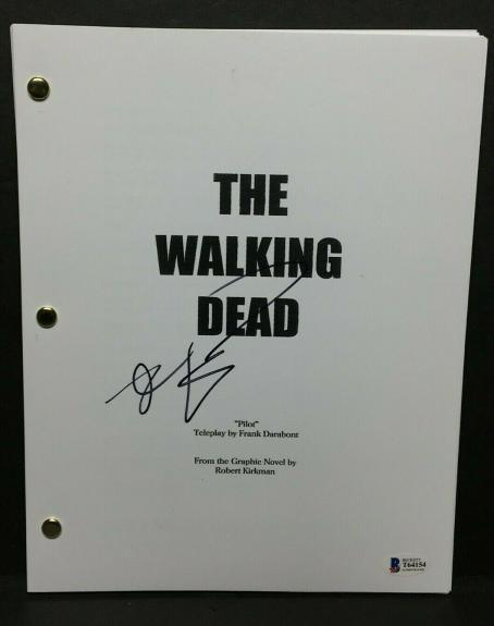 Robert Kirkman Signed 'The Walking Dead' TV Episode Script BAS Beckett T64154