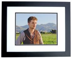 Robert Pattinson Signed - Autographed Water for Elephants 8x10 Photo BLACK CUSTOM FRAME