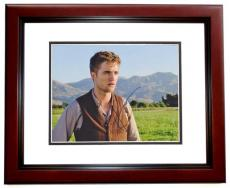 Robert Pattinson Signed - Autographed Water for Elephants 8x10 Photo MAHOGANY CUSTOM FRAME