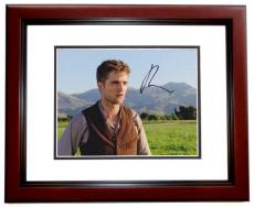 Robert Pattinson Signed - Autographed Water for Elephants 8x10 Photo MAHOGANY CUSTOM FRAME - TWILIGHT Actor