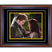 Robert Pattinson & Kristen Stewart Autographed / Signed Framed 8x10 Photo