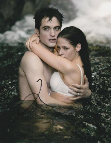Robert Pattinson Signed 8x10 Photo Twilight Autograph Edward Cullen Coa C
