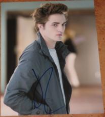 Robert Pattinson Signed 8x10 Photo Twilight Edward Cullen Coa E