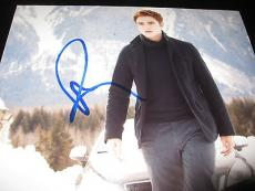 ROBERT PATTINSON SIGNED AUTOGRAPH 8x10 PHOTO TWILIGHT PROMO EDWARD RARE COA NY M