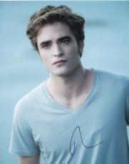 Robert Pattinson Signed Autographed 8x10 Photo Twilight Sexy Star Flawless Photo