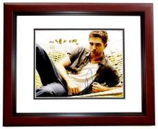 Robert Pattinson Signed - Autographed TWILIGHT Actor - Team Edward 11x14 inch Photo MAHOGANY CUSTOM FRAME - Guaranteed to pass PSA or JSA