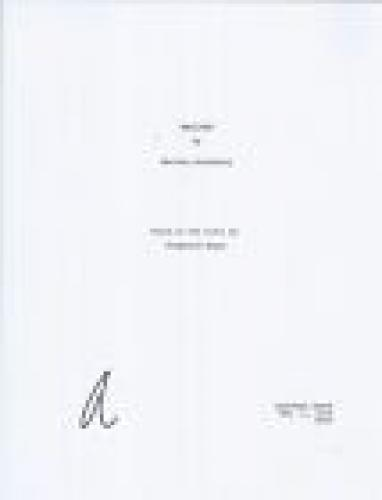 Robert Pattinson Signed Autographed Twilight Full Movie Script