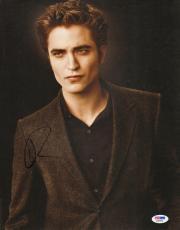 Robert Pattinson Signed Twilight 11x14 Photo PSA/DNA COA Autographed Eclipse
