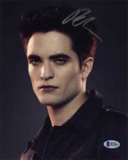 Robert Pattinson Twilight Autographed Signed 8x10 Photo Certified BAS COA