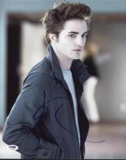 Robert Pattinson Twilight Signed 11X14 Photo PSA/DNA #X43480