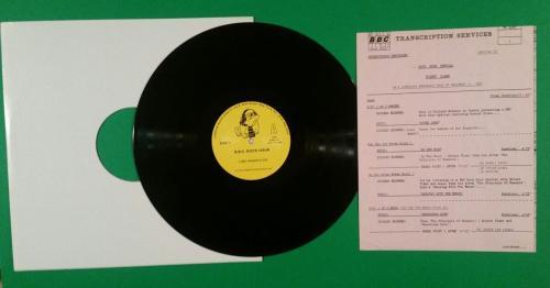 "Robert Plant 1983 Bbc Rock Hour 12"" Vinyl Lp Album Promo Radio Show Led Zeppelin"