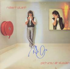Robert Plant Autographed Led Zeppelin Pictures At Eleven Album Cover - PSA/DNA COA