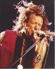 Robert Plant Led Zeppelin Signed Autographed 8x10 Photo VERY RARE