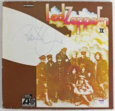 "Robert Plant Led Zeppelin Signed ""ii"" Vinyl Album Psa/dna Coa Z92849"